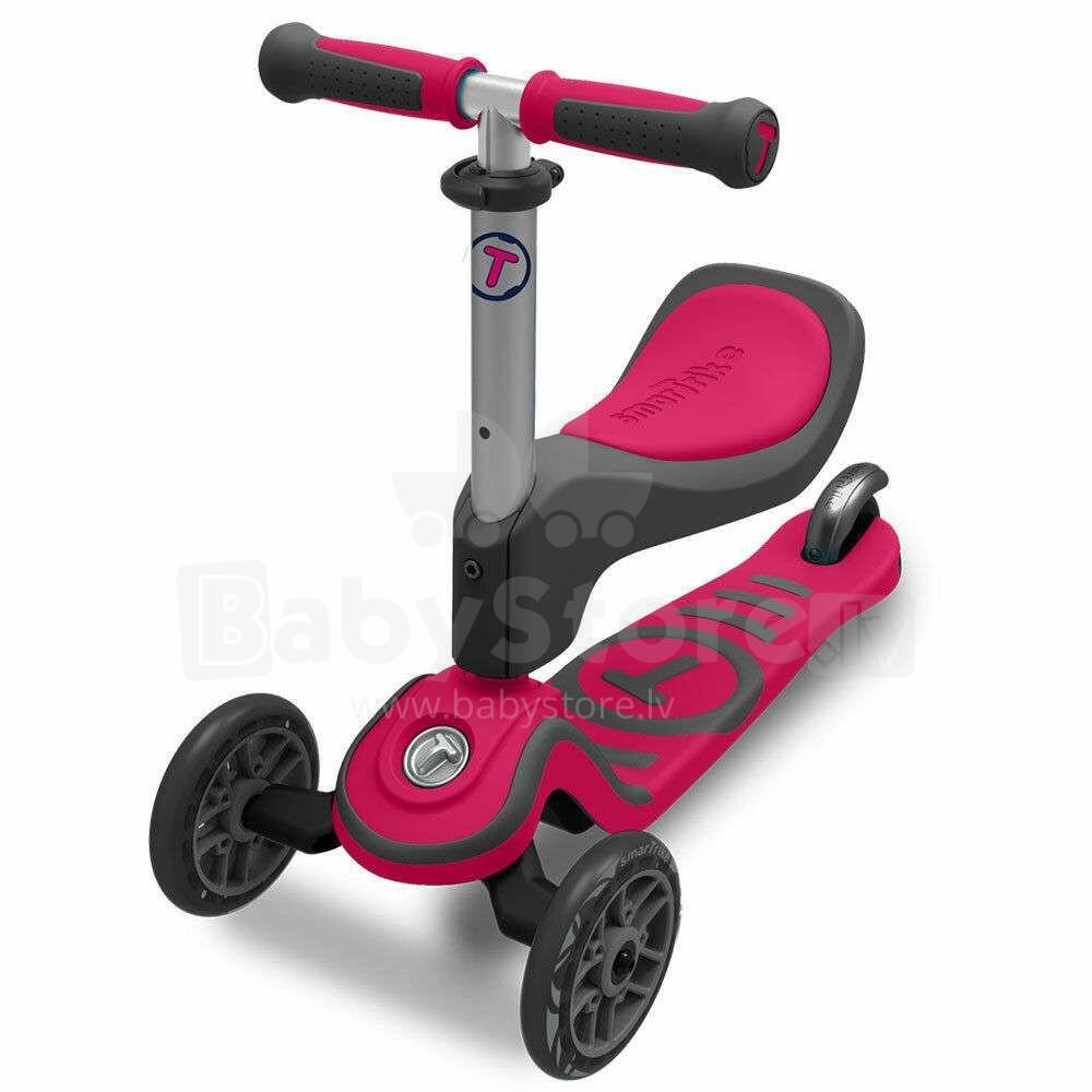 5e40a5272b5 Smart Trike T- Scooter T1 Pink Art.STT1S2020200 Kolmerattaline tõukeratas  koos istmega