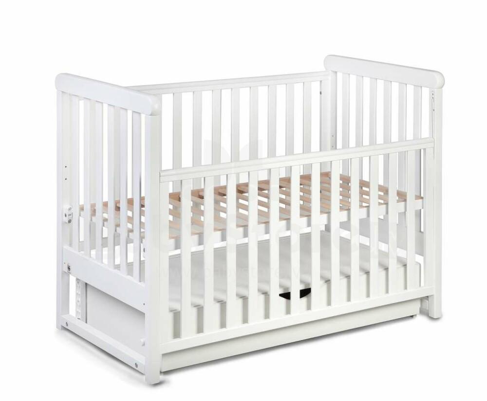 Yappykids Move Art108444 White детская деревянная кроватка