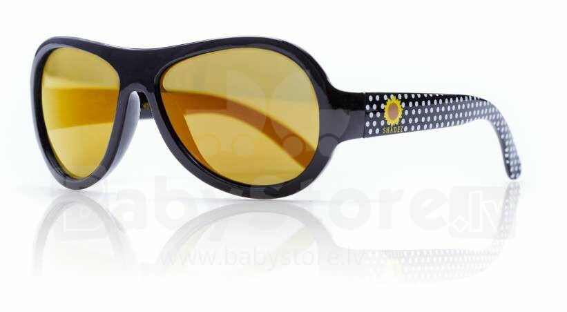 9fad192cf66 Shadez Designer Polka Sunflower Black Junior Art.SHZ49 Sunglasses 3-7 years  - Catalog   Clothing   Shoes   Accessories   BabyStore.lv - The biggest  kids ...