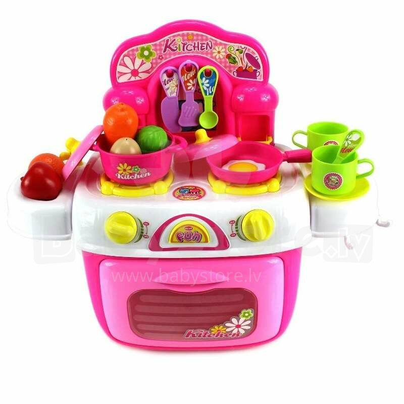 Berry Toys My First Portable Kitchen Pink Art 95619 Kitchen Play Set Catalog Toys Games For Girls Babystore Lv The Biggest Kids Online Store