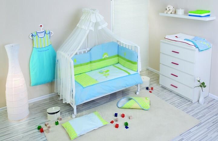 NINO-ESPANA Bernu gultas veļas kokvilnas komplekts 'Erizo Bl