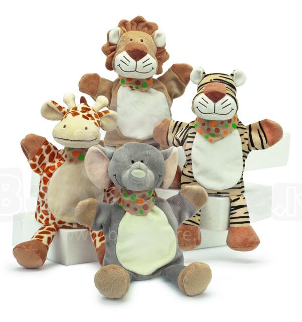 Teddykompaniet 2129 Wild Animal Hand Puppets