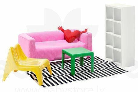 Ikea 502.355.10 Huset doll furniture for living-room - Catalog ...
