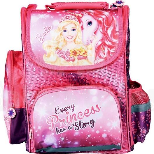 5129547bd0cc Patio Ergo School Backpack Art. 86130 Школьный эргономичный рюкзак с  ортопедической воздухопроницаемой спинкой [портфель, ранец] BARBIE SECRET  21104