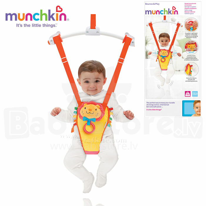 ddca45341 Munchkin Art.145264 Jump Play Door Bouncer - Catalog   Transport ...