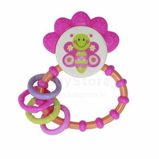 Lorelli Toys Butterfly Art.1021063 Bērnu grabulis 3m+