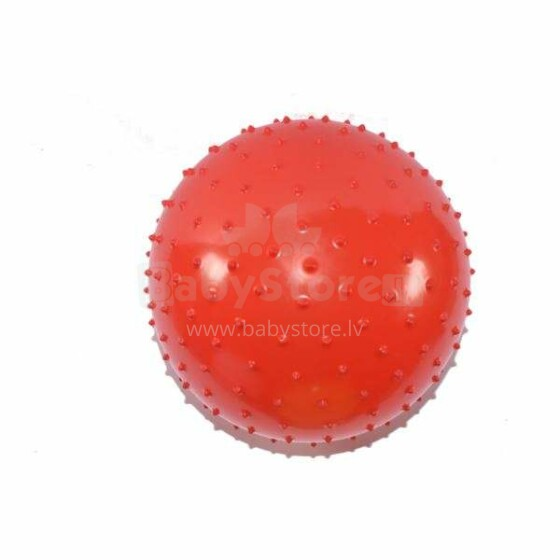 Midex Red Art.9876 Sarkana masāžas bumba - ezītis (diametrs Ø20cm)