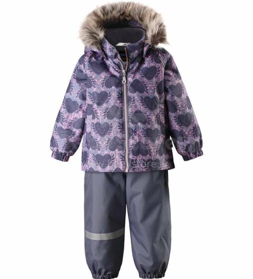 Lassie'19 Lassietec® Mid Grey Art. 713733- 9261 Silts mazuļu ziemas kostīms: jaka un bikses