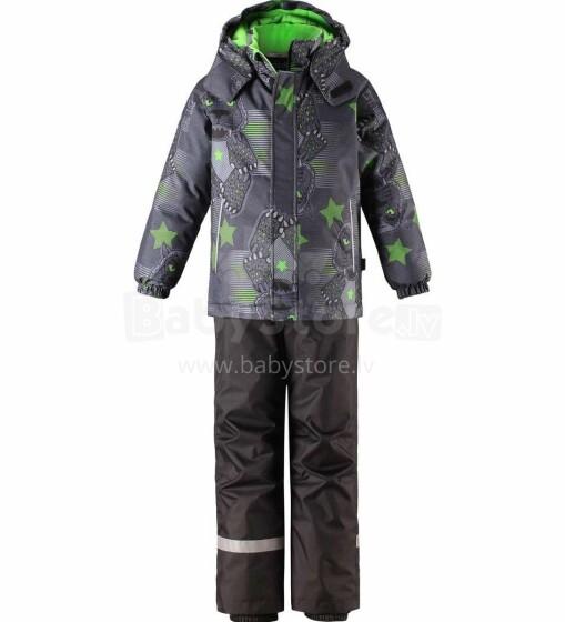 Lassie'19 Lassietec® Bright Green Art.723733-8411 Silts mazuļu ziemas kostīms: jaka un bikses