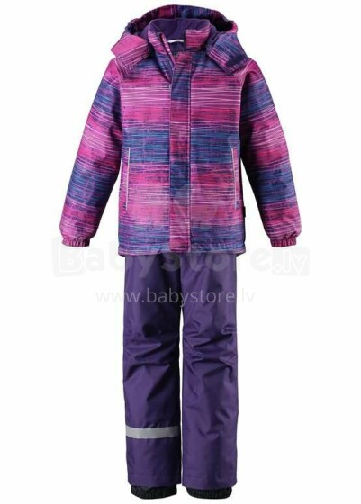 Lassie'19 Lassietec® Amethyst Lilac Art.723732-5582 Silts mazuļu ziemas kostīms: jaka un bikses