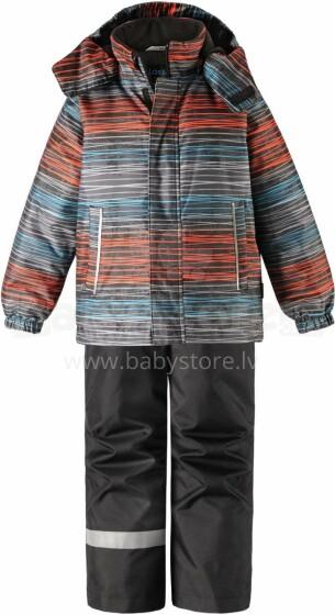 Lassie'19 Lassietec® Black Art.723732- 9991 Silts mazuļu ziemas kostīms: jaka un bikses