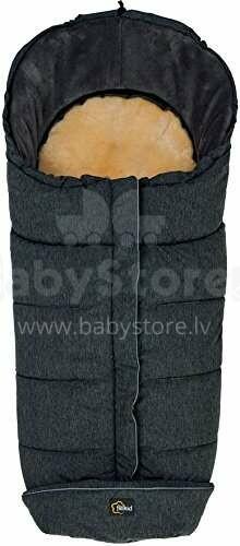 Fillikid Lambskin Footmuff Everest Art.5670-97 Dark Grey Melange  sleeping bag