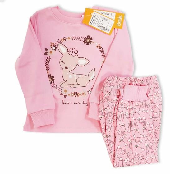 Bembi Pajama Art.PG39-331 Детская пижамка из чистого хлопка