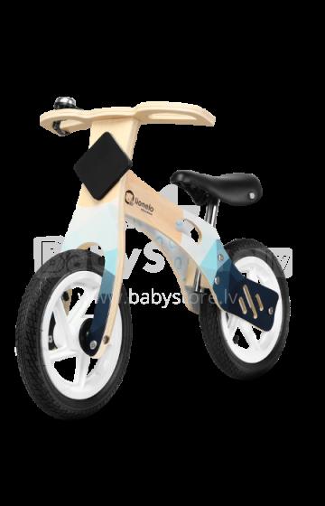Lionelo Balance Bike Willy  Art.117912 Air   Bērnu skrējritenis ar koka rāmi