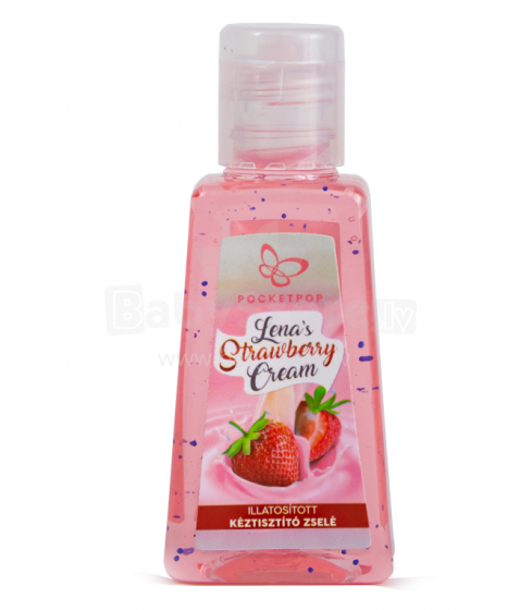 Pocketpop Cleansing Hand Gel Art.59946410 Lena Strawberry Cream
