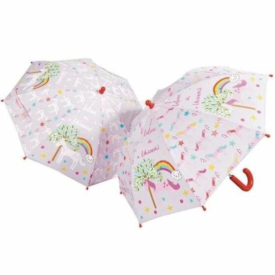 Umbrella Colour Unicorn Art.36P2632 Bērnu lietussargs