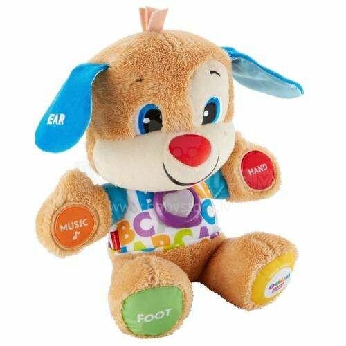 Fisher Price Art.FPP17 Muzikālā rotaļlieta Gudrais kucēns (latv.val.)