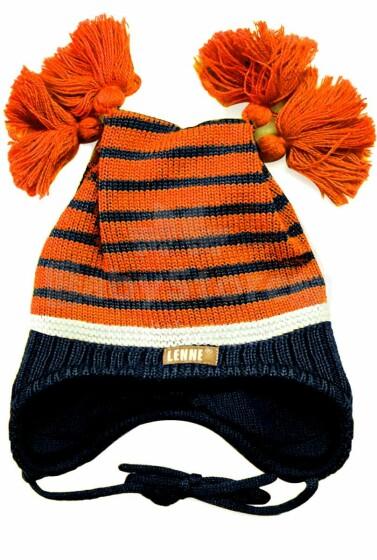 Lenne '17 North 16379B/452 Mazuļu adīta pusvilnas cepure (46-50 cm)