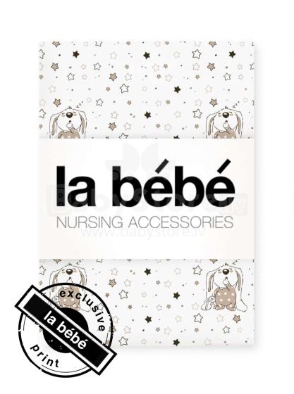 La Bebe™ Cotton 100x135 Art.64289 Bunnies Bērnu kokvilnas virspalags 100х135cm