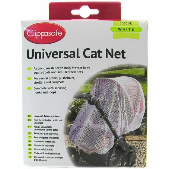 Clippasafe Art.CLI 6/3 WHITE Universāls anti moskitu tīkls