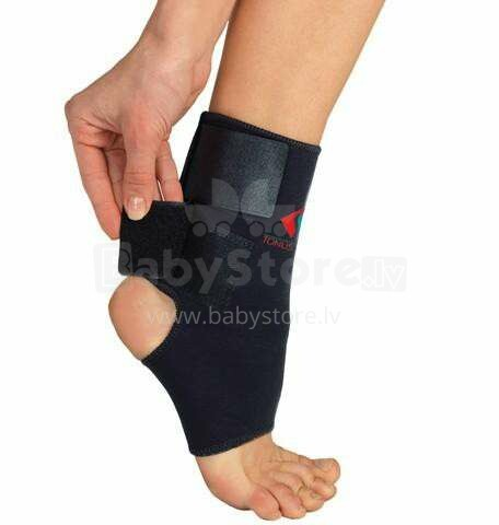 Tonus Elast Art.0310  Medicīniskais elastīgais apsējs no neoprēna (ortoze) pēdas locītavas fiksācijai, ar velcro aizdari