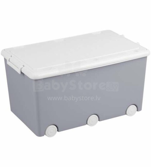 Tega Baby  Mantu kaste ar vāku GREY OWLS 52l
