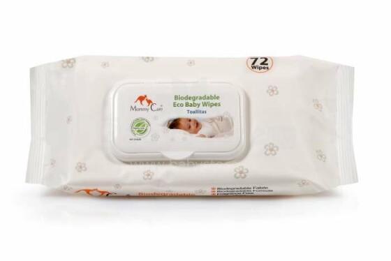 Mommy Care Art.AS803010 Biosairstošas EKO mitrās salvetes bērniem, 72 gab.