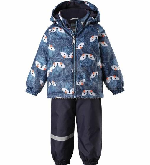 Lassie'19 Lassietec® Dark Blue Art.713732-6951 Silts mazuļu ziemas kostīms: jaka un bikses