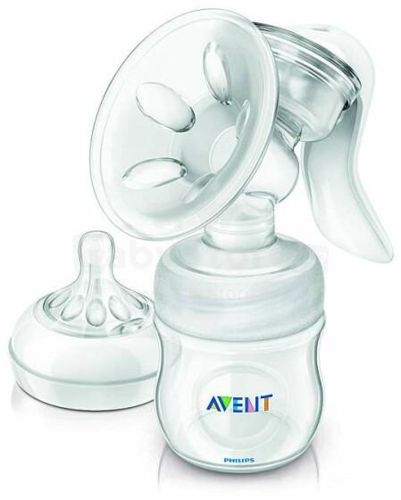 Philips Avent Natural Breast Pump Art.SCF330/20 Manuālais krūts pumpis