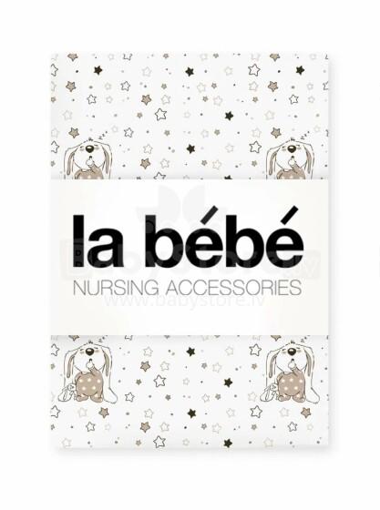 La Bebe™ Nursing Cotton Bunnies Art.82523  Kokvilnas autiņš izm.75x75 cm