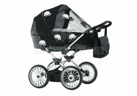 Babydan Art.3300/11/92  Universāls anti moskitu tīkls ar atstarojošiem auto