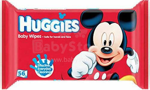 Huggies Disney Art.041550022 mitrās salvetes  56 gab.