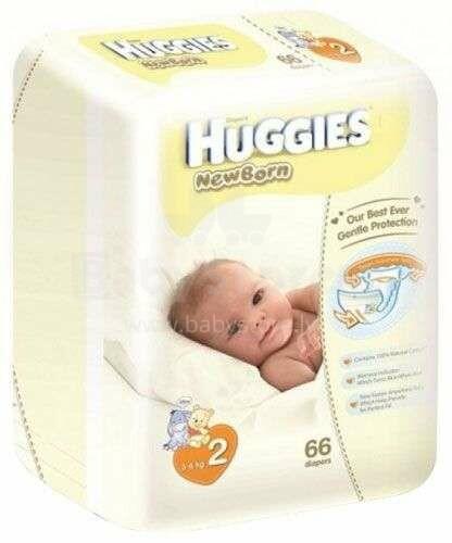 Huggies Newborn Elite Soft Art.041544267 autiņbiksītes jaundzimušajiem 4-7kg, 66gb