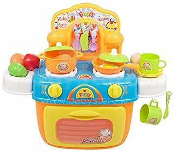Berry Toys My First Portable Kitchen Orange Art 293526 Kitchen Play Set Catalog Toys Games For Girls Babystore Lv The Biggest Kids Online Store