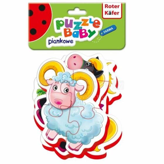 Roter Käfer Baby Puzzle RK1102-03 Farma (Vladi Toys)