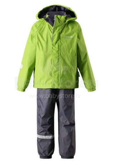 Lassie'18 Lassietec® Bright Green Art.723711-8310 Silts mazuļu ziemas kostīms: jaka un bikses (104,140 cm)
