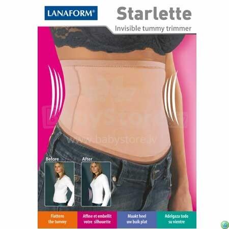 LANAFORM LA0505-02 STARLETTE koriģējošā korsete (bēša)