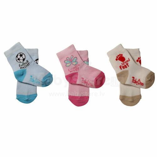 Baby Ono Art. 435/02 Zeķes 6-12 mēn.