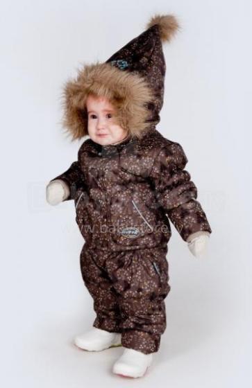 Huppa Winter 1151BW11 Bērnu vējjaka ANDY 300G Chestnut Pattern 911 (80 izm)