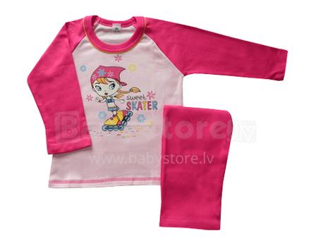 4KIDS 452108 Bērnu kokvilnas pidžama meitenēi