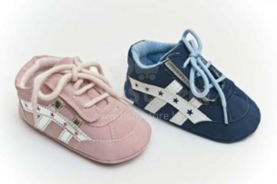 Bobas baby shoes bērnu Zabaciņi  3-6 m. (brūns)