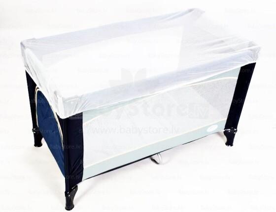Womar Art. 22175 WHITE  Moskītu tīkls gultiņai 120x60 cm
