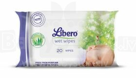 Libero Travel Art.61400 Wet Wipes 20 psc