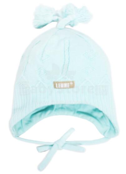 LENNE'14 - Sweety 14240-400 Knitted cap Mazuļu adīta kovilnas cepure sasienamā (izm.40-48)