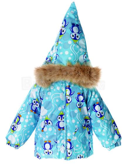 Huppa '15 Virgo Pinguin 1721BW00-676 Ziemas mazuļu termo jaka (80-104cm)