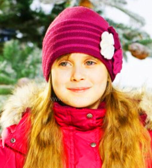Lenne'15 Knitted Hat Rosita Art.14393/187 Bērnu siltā pusvilnas cepure [izm. 52-56]