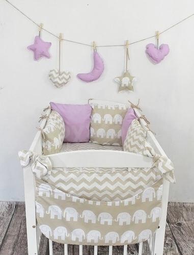 Baby Love 8 Set Art.8508 Gultas veļas komplekts no 8 daļām