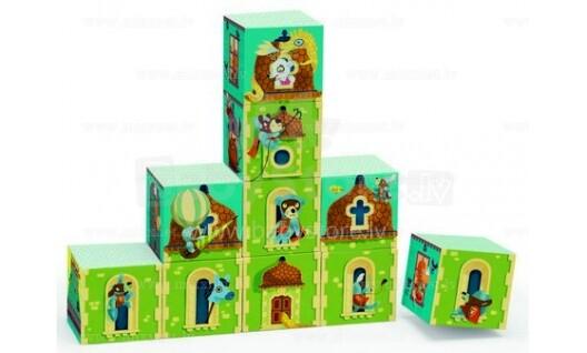 Djeco Art.DJ08204 Princešu pils  Kluču spēle
