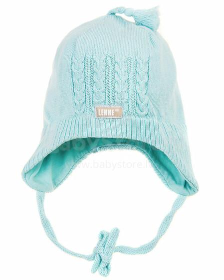 Lenne'15 Knitted Hat Baby Art.15240-400 Mazuļu siltā kokvilnas cepure [izm.40-48cm]