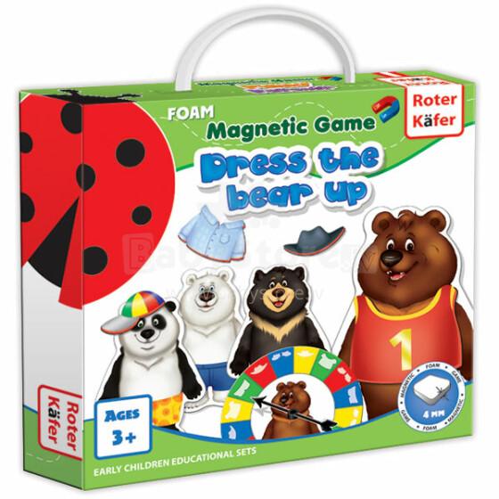 Roter Käfer RK3203-01 Magnētiskā spēle Saģērbt lāci (Vladi Toys)